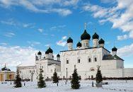 Виды Астрахани (зима)