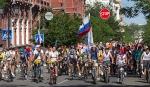 Велопарад в Астрахани, 19 мая 2013
