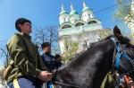 Конный поход казаков, 28 апреля 2013
