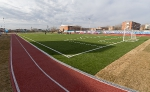 Открытие стадиона в Камызяке, 12 марта 2013