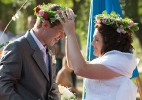 Свадьба беженцев с Украины